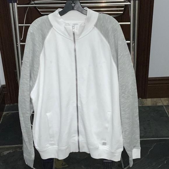 Calvin Klein Other - Zip up sweatshirt